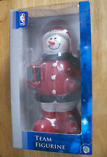"""Forever Collectibles 10"""" Tall Chicago Bulls Team Figurine Frosty The snowman"""