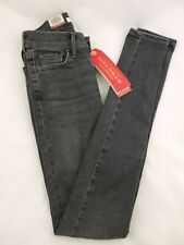 Levi's Ladies 710 Super Skinny Jeans - Size 24 / 32 - NEW With tags Black / Grey