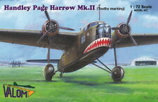 Valom Plastic model kit 72116 1:72 scale Handley Page Harrow MKII Toothy Marking