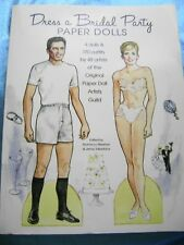 Paper Dolls Dress-A-Bridal Party Hodgdon Whatley Henry 48 Opdag Artists Rare!