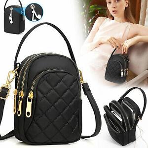 Small Cell Phone Purse Wallet Handbag Case Women Shoulder Bag Cross-body Pouch
