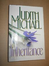 Inheritance  by Judith Michael (1988, Hardcover, Standard Size)