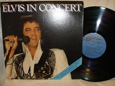 Elvis Presley - Elvis In Concert 1977 Double LP Album Excellent Condition
