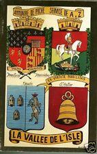 Périgord = Annuaire de poche 1988 = LA VALLÉE DE L'ISLE