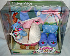Briarberry Collection Baby Care Set Furniture Bear Fisher MIB 2000 Toy