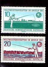 Alemania DDR Pesca Deportiva Serie del año 1961 (AA-559)