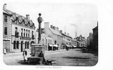 Mansfield Market Cross unused old postcard