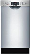 "Bosch Spe68U55Uc 800 Series 18"" Built-In Dishwasher in Stainless"