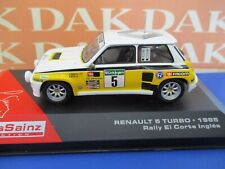 Die cast 1/43 Modellino Auto Renault 5 Turbo Rally El Cortes Ingles 1985 C.Sainz
