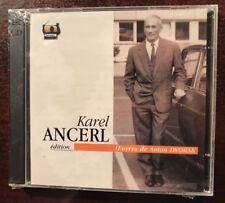 Karel Ancerl  Dvorak Tahra 2 CDs Set  BRAND NEW SEALED RARE