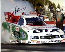 JOHN FORCE signed autographed NHRA photo