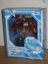 Takara Transformers Henkei Crystal Convoy Clear Version Optimus Prime C-01 dmg