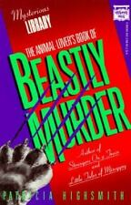 The Animal Lover's Book of Beastly Murder (Mysterious Library)-ExLibrary