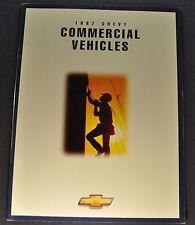 1997 Chevrolet Commercial Truck Brochure Silverado Pickup S-10, Van Canadian