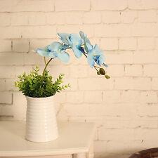""" Artificial Silk Phalaenopsis Flower Bridal Hydrangea Home Wedding Garden Decor"