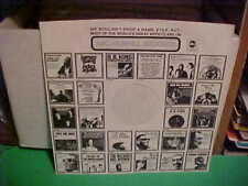 ABC/DUNHILL RECORDS PAPER INNER SLEEVE ONLY NO RECORD 12 INCH