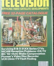 Television Magazine October 1992