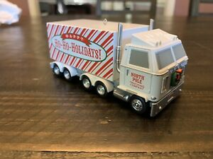 "Hallmark Keepsake Ornament: ""Christmas Convoy"" Truck w/ Sound 2014 (Please Read)"