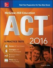 McGraw-Hill Education ACT 2016 : Strategies + 6 Practice Tests + 12 Videos + Te…