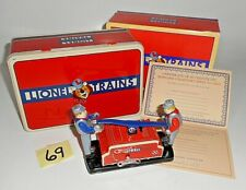 VINTAGE LIONEL TRAINS COA EDITION HAND CAR 1900-2000 CLOCKWORK SCHYLLING 69