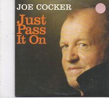 Joe Cocker-Just Pass It On Promo cd single