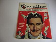 Vintage CAVALIER magazine MAY 1959 ERROL FLYNN; SPECIAL GUNS; HOOKED TARPON  -VG