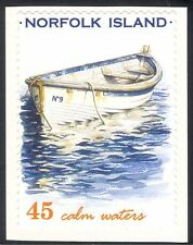 Norfolk Island 2001 Rowing Boat/Whaleboat/Nautical/Transport 1v s/a (s2922a)