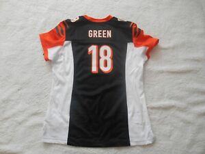 Authentic Nike On-Field #18 A.J Green Cincinnati Bengals Jersey Women S TAGS NEW