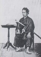 Samurai Kondou Tyojiro Japan Sword 7x5 inch Photo