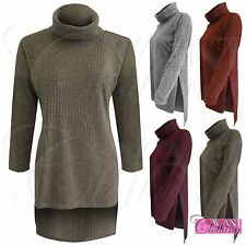 Unbranded Women's 3/4 Sleeve Hip Length Jumpers & Cardigans