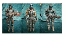 Neca Gears of war figures, Anthony, Clayton Carmine and rare Cog Soldier