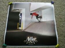 Adio Skateboard Poster Torres & Dompierre Skateboarding 2 in 1 Two-Sided