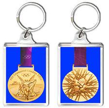 LONDON 2012 OLYMPIC GOLD MEDAL FRIDGE KEYRING