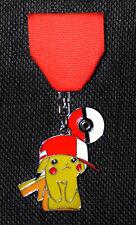 Cute Pikachu & Ash's Ball Cap: Pokémon-styled San Antonio Fiesta Medal