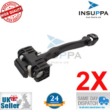 2X VAUXHALL OPEL ASTRA H MK5 FRONT DOOR CHECK STRAP STOPPER HINGE ASSS 13107175