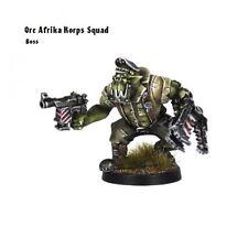 Kromlech BNIB Orc Afrika Korps Squad Leader