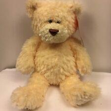 """Animal Alley Gund FUZZLEY Teddy Bear 13"""" Plush Soft Fuzzy Cream Stuffed Animal"""