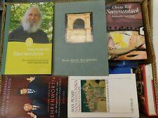 46 Bücher Hardcover Romane Sachbücher verschiedene Themen Paket 5