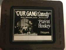 Our Gang Little Rascals Extremely Rare Original Movie Magic Lantern Slide 1928