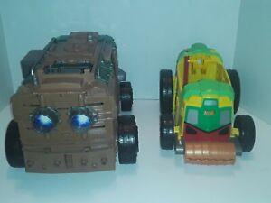 Lot Of 2 TMNT Vehicles- Shell Raiser Incomplete. Teenage Mutant Ninja Turtles
