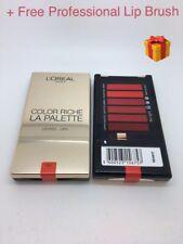 Loreal Paris color riche LA PALETTE RED LIP PALETTE - BRAND NEW GENUINE