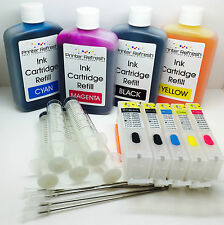 5 Refillable Ink Cartridges Full Kit to replace Canon PIXMA IP7250