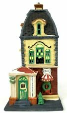 Dept 56 Christmas In The City Lighted 1992 Haberdashery 55310 Retired 1996