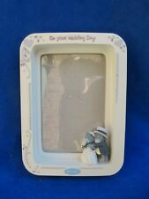 """Me to You Tatty Teddy ' Our Wedding Day ' Photo Frame / Picture Frame - 7"""" x 5"""""""