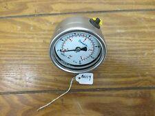 Swagelok EN837-1 2.5Inch Gauge  0-60PSI 0-4BAR