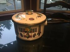 Georges Briard Ambrosia Pineapple Mid Century Pot with Lid