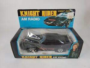 Vintage Knight Rider 2000 KITT Am FM Radio 1982 Hasselhoff Universal Studios