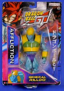 DRAGON BALL GT GENERAL RILLDO AFFLICTION 2004 JAKKS