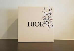 Christian Dior Floral Beige Gift Box Flowers Cream Colored Box New w Ribbon 2021