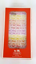 COACH F64698 AUTHENTIC DOUBLE STRIPE IPHONE 5 HARD SHELL CASE S5 C17291